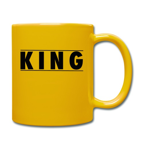 Tasse - King and Queen - Tasse einfarbig