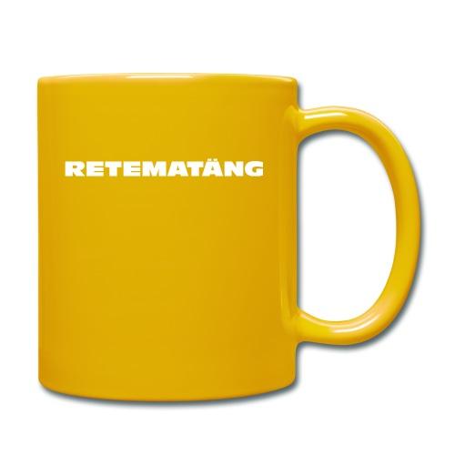 Retematäng - Tasse einfarbig