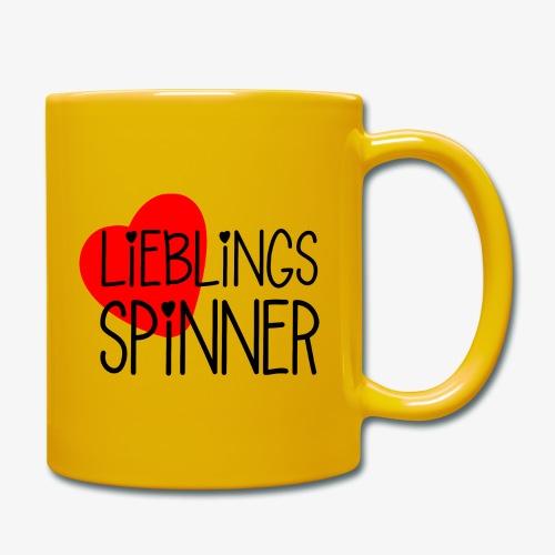 Lieblings-Spinner Geschenkidee Valentinstag - Tasse einfarbig