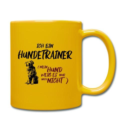 Ich bin Hundetrainer - Golden Retriever / Geschenk - Tasse einfarbig