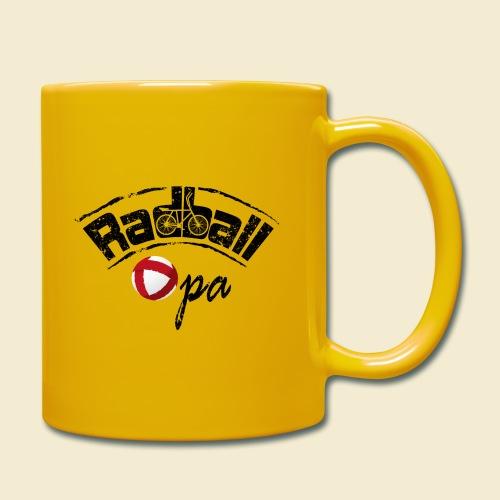 Radball | Opa - Tasse einfarbig