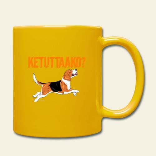 Ketuttaako Beagle - Yksivärinen muki