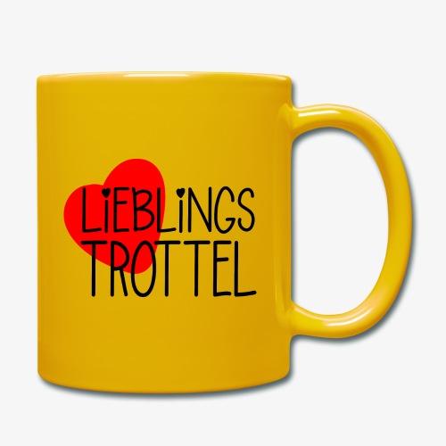 Lieblings-Trottel Geschenkidee Valentinstag - Tasse einfarbig