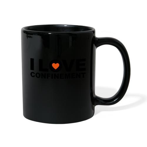 j aime le confinement - Mug uni