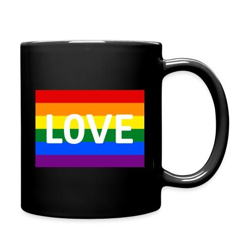 LOVE SHIRT - Ensfarvet krus