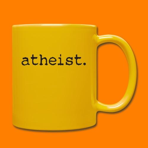 atheist BLACK - Full Colour Mug