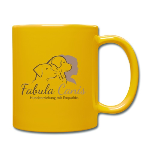 Fabula Canis - Tasse einfarbig