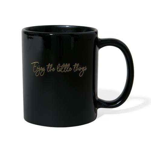 enjoy the little things - Tasse einfarbig