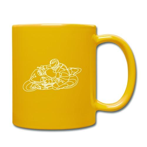 Rennfahrer - Tasse einfarbig