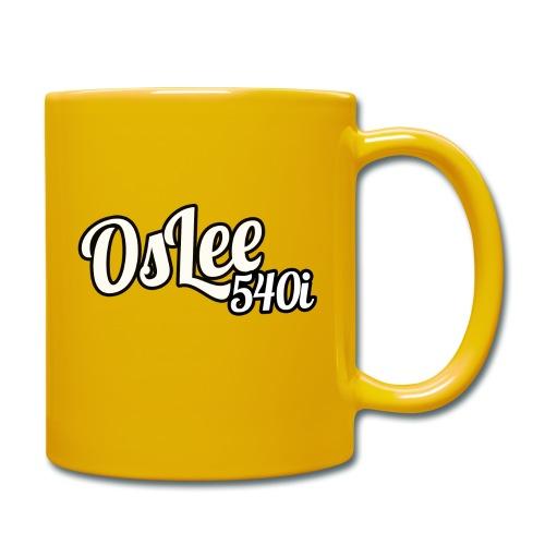 OsLeeLogoschattenGross - Tasse einfarbig
