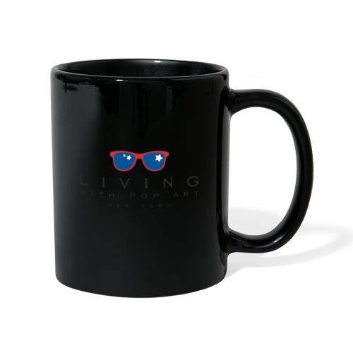 LIVING WITH POP ART Black - Mug uni