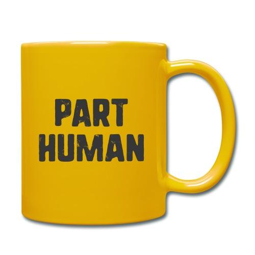 Part human - Enfärgad mugg