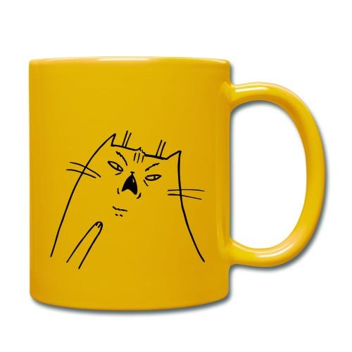 Shocked Cat - Tasse einfarbig