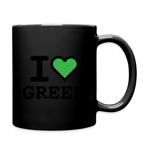 i-love-green-2.png - Tazza monocolore
