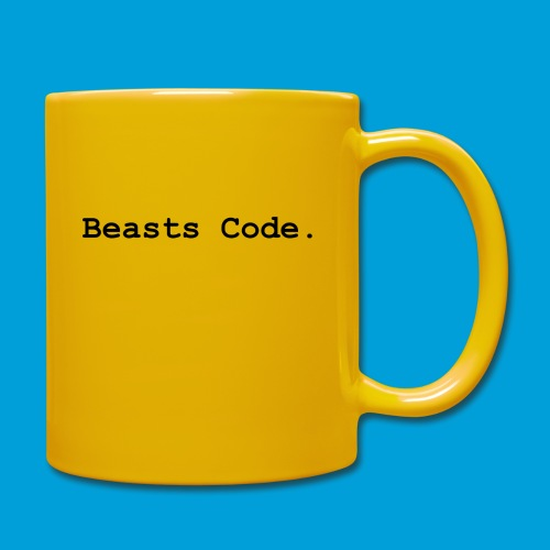 Beasts Code. - Full Colour Mug
