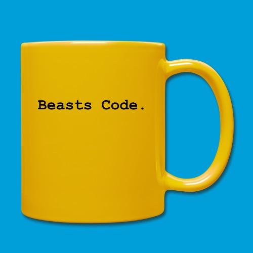 Beasts Code. - Full Colour Mug