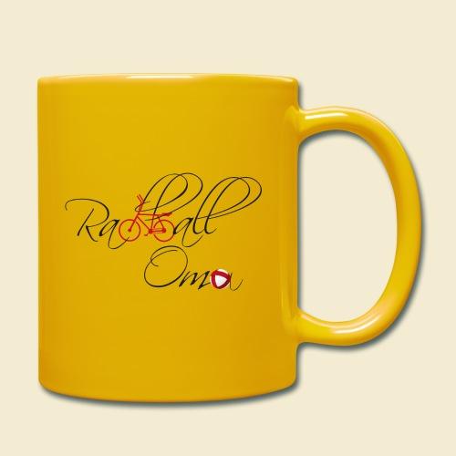 Radball | Oma - Tasse einfarbig