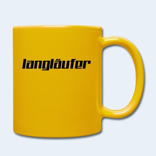 langlaeufer_font_6 - Tasse einfarbig