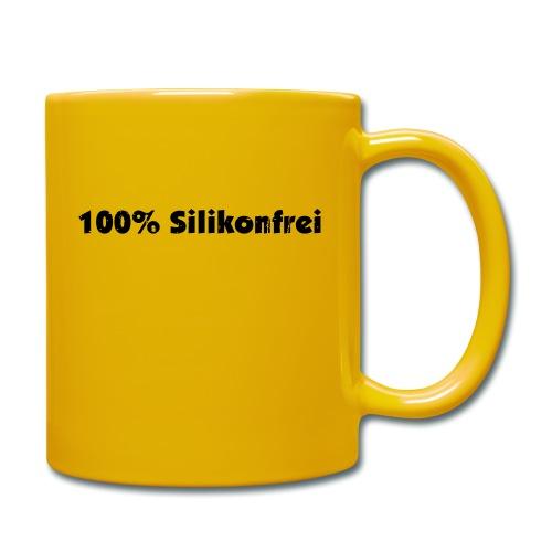 silkonfrei - Tasse einfarbig