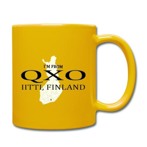 QXO - Yksivärinen muki