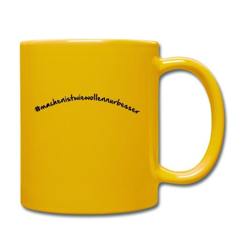 miwwnb gebogen - Tasse einfarbig
