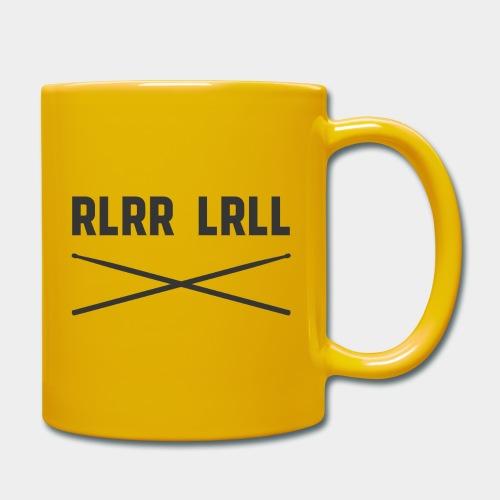 Schlagzeug Paradiddle Drummer RLRR LRLL - Tasse einfarbig