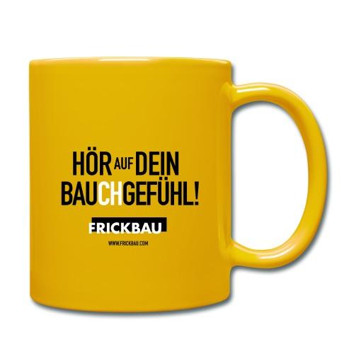 FRICKBAU - Tasse einfarbig