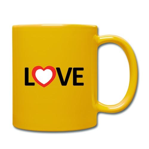 Love - Taza de un color