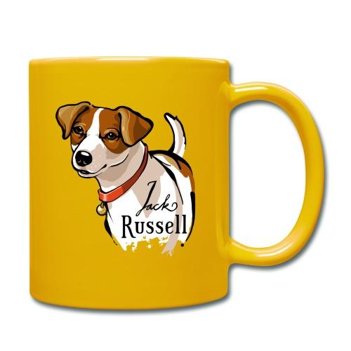 Jack Russell - Tasse einfarbig