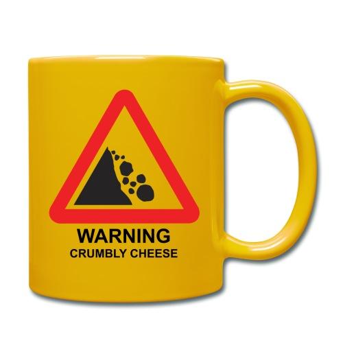 WARNING: CRUMBLY CHEESE - Full Colour Mug