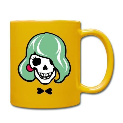 Sexy Totenkopf - Sharon Bone - Tasse einfarbig