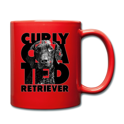 Curly Coated Retriever II - Yksivärinen muki
