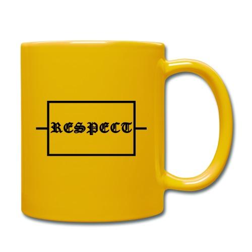 Widerstand für RESPECT - Tasse einfarbig