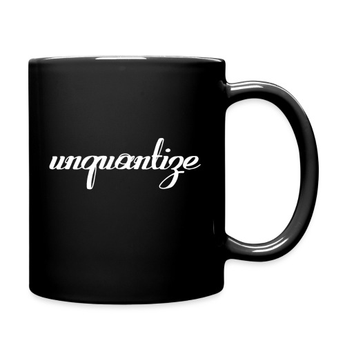 unquantize white logo - Full Colour Mug