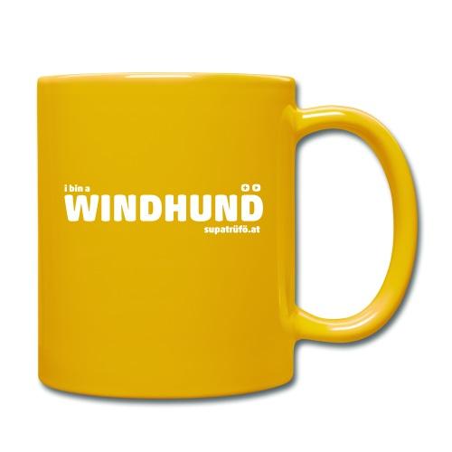 supatrüfö WINDHUND - Tasse einfarbig