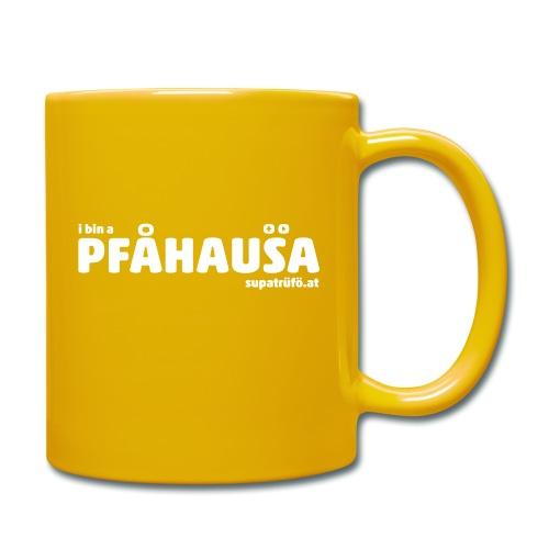 supatrüfö PFAUHAUSA - Tasse einfarbig