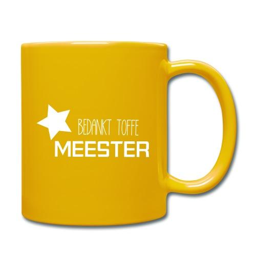 Bedankt toffe Meester - Mok uni