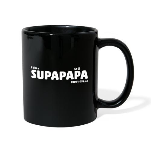 i bin a supapapa - Tasse einfarbig
