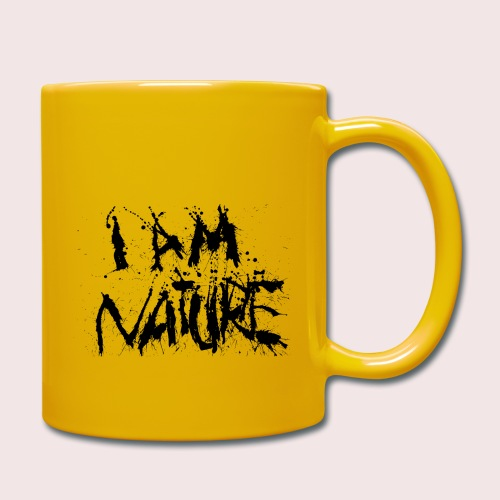 I AM NATURE (backprint) - Tasse einfarbig
