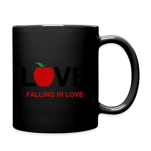 Falling in Love - Black - Full Colour Mug