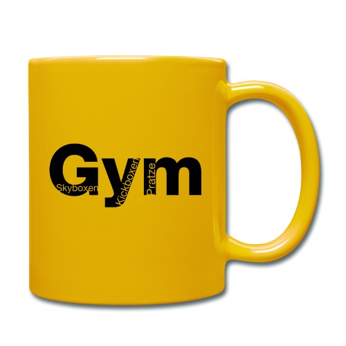 Gym Black - Tasse einfarbig