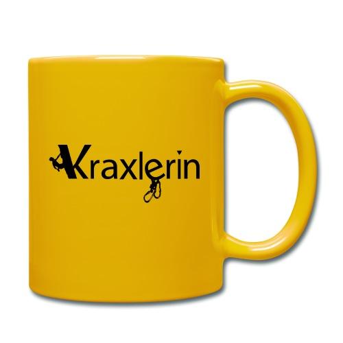 Kraxlerin - Tasse einfarbig