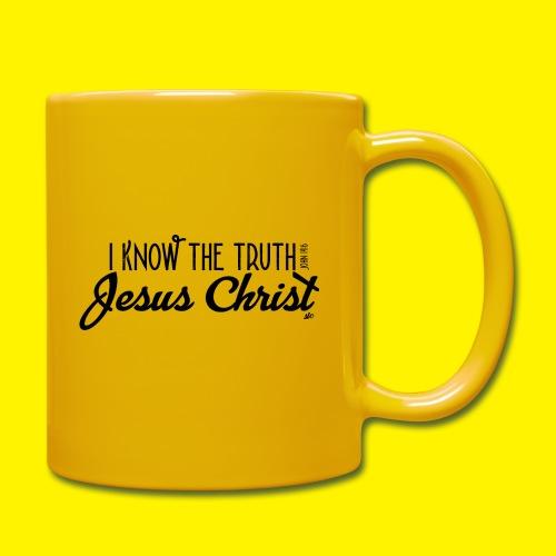 I know the truth - Jesus Christ // John 14: 6 - Full Colour Mug