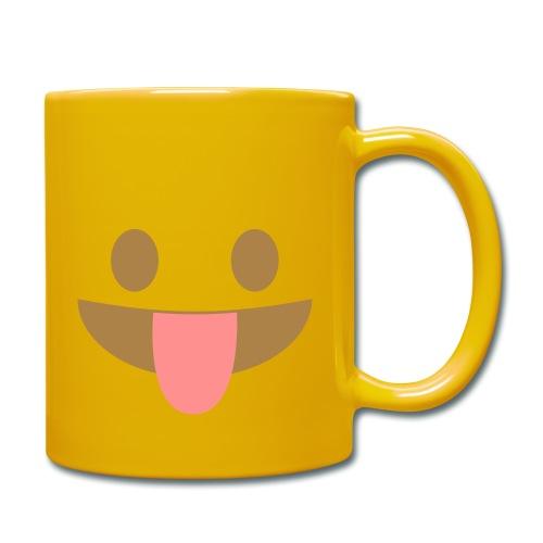 Emoji face with tongue out - Full Colour Mug