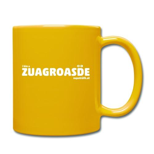 SUPATRÜFÖ ZUAGROASDE - Tasse einfarbig