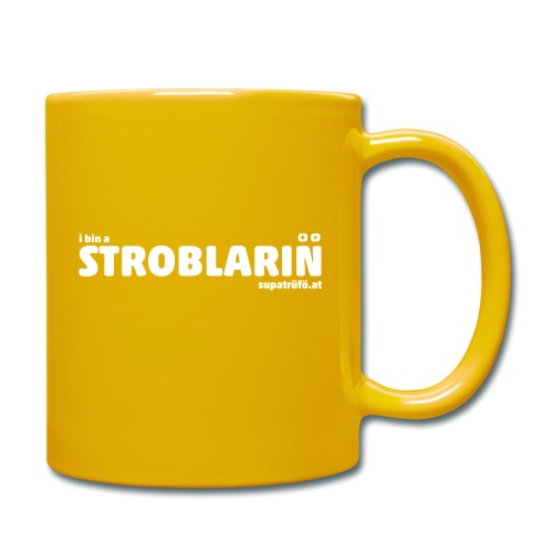 SUPATRÜFÖ STROBLARIN - Tasse einfarbig