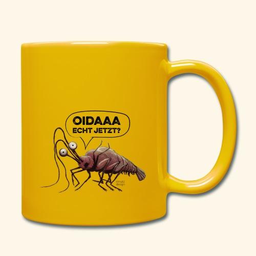 Oida - Echt jetzt? Hummer - Tasse einfarbig