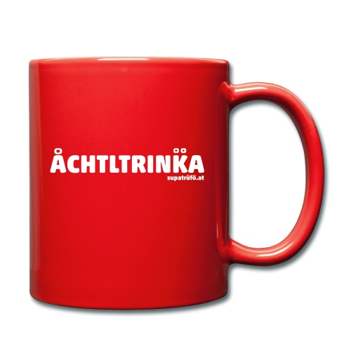 achtltrinka - Tasse einfarbig