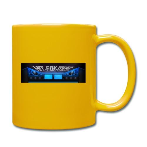 Hit-Fox-Music - Tasse einfarbig