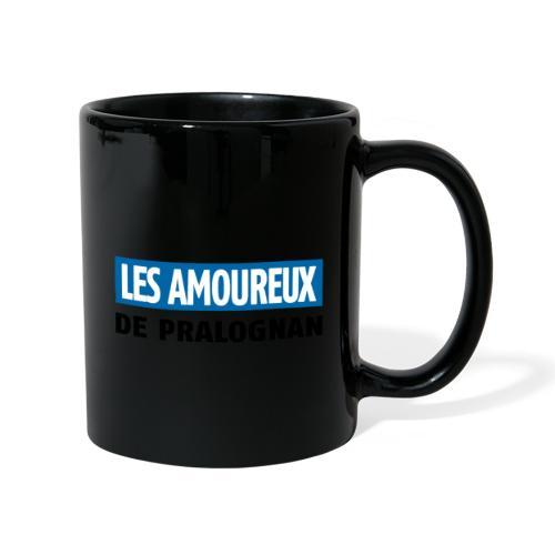 les amoureux de pralognan texte - Mug uni